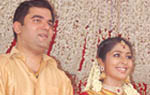 Navya Nair wedding gallery