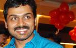 Karthi at Sathyam cinemas