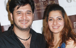 Erum Ali launches Puneet Gupta @ EA Bridal lounge