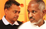 Gautham Menon & Ilayaraja in London