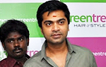 Simbu launches Green Trends Hair Salon