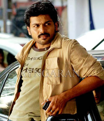Karthi in Bhoopathy Pandian's direction