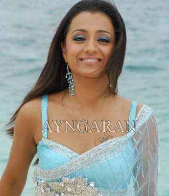 Trisha goes to Bollywood