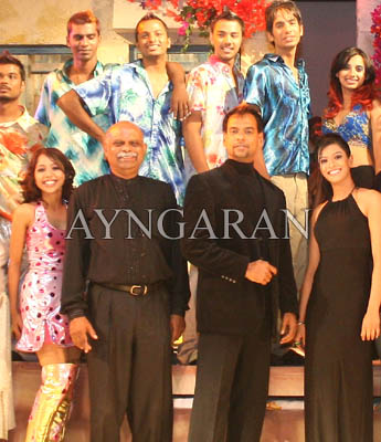 Everybody says Mamma Mia………! Exclusive pictures in Ayngaran!