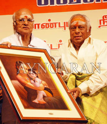 Mellisai Mannan honored!