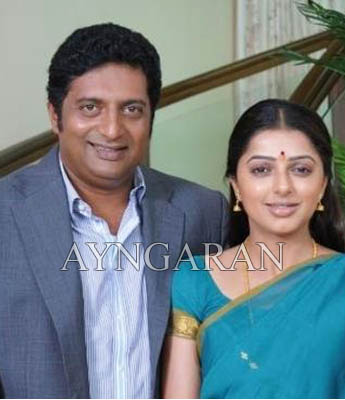 Prakashraj and Bhumika to pair up