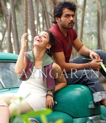 Paiyaa will be an action- romantic genre