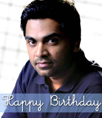 Hearty birthday wishes to Simbu