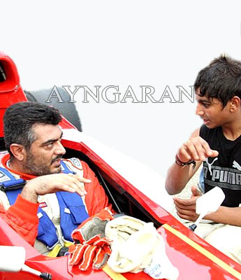 Ajith continues his passion…