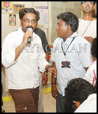 Director Vasantha Balan -An Interactive session with his team