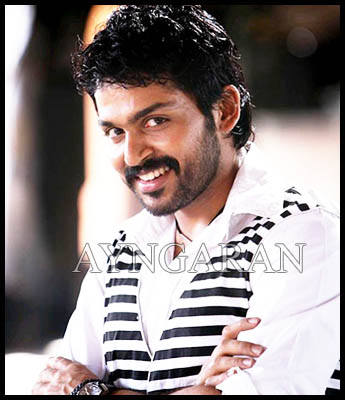 Actor Karthi gets candid