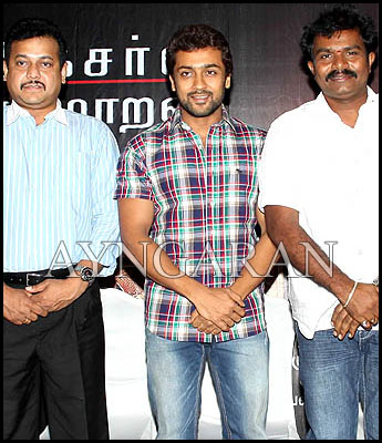 Singam team meets the press