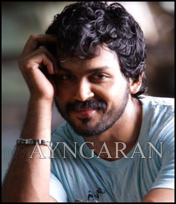 Karthi is a happy go-lucky youngster
