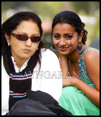 Trisha's mom follows her daughter