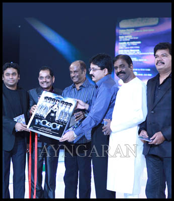 Endhiran audio released