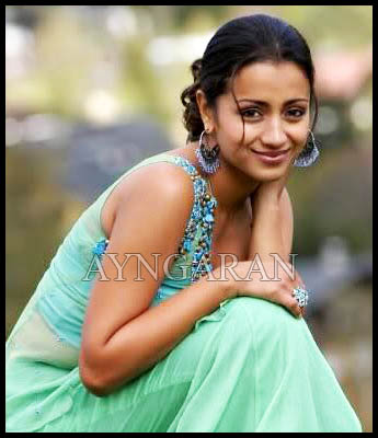Trisha a big fan of Kamal