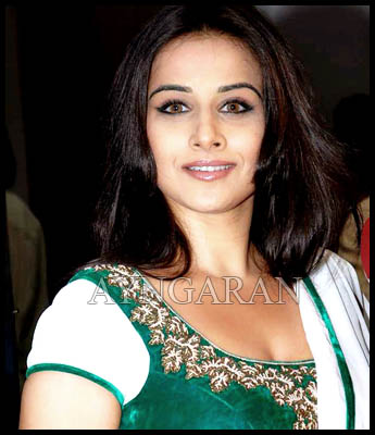 Vidya Balan First in South