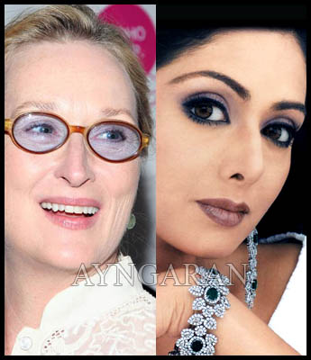 Is it Meryl Streep or Sridevi for Balki