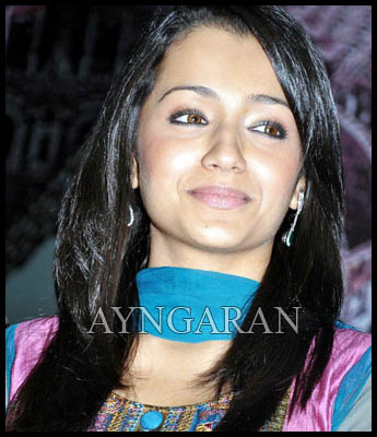 Trisha with her own voice in Bollywood