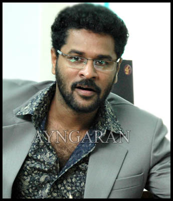 Prabhudeva ready for action
