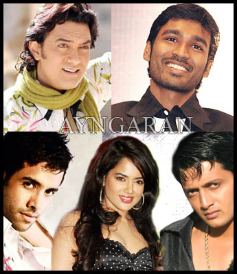 Actors on Enthiran
