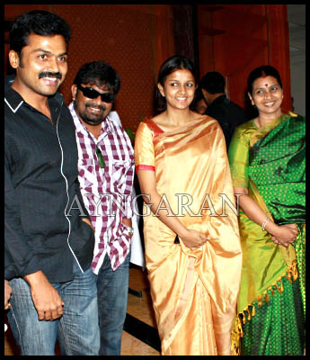 Karthi promotes for noble cause