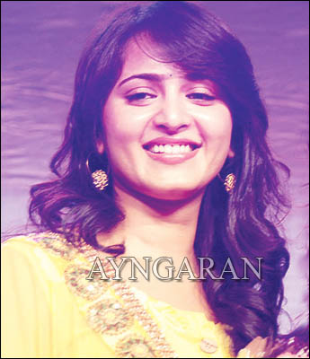 Anushka -spell bound by a song in DT
