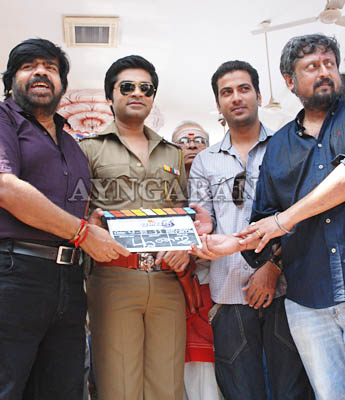 "Simbu in "" Osthi"" -movie launched"