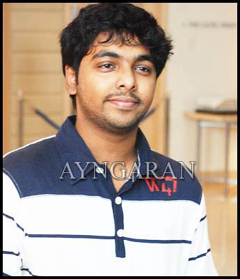 Composer GV Prakash Kumar is delighted