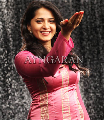 Actress Anushka on a roll
