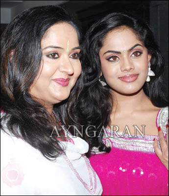 Karthika is mommy's little girl