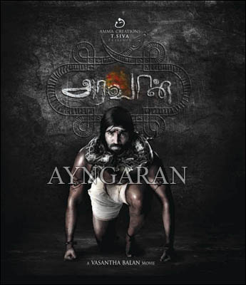 Araavan shoot progressing at brisk pace