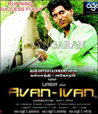 Avan Ivan now showing successfully @ cinemas
