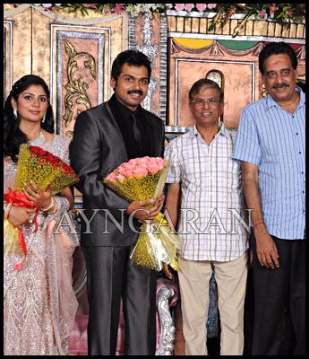 Actor Karthi- Ranjani reception held