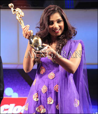 Singer Shreya Ghoshal thrilled