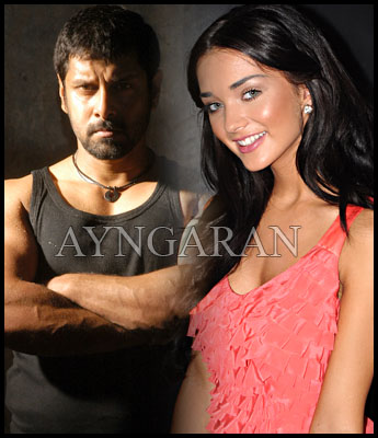 Amy Jackson in Vikram's next?