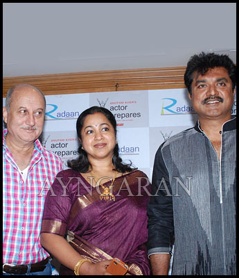 Radaan Mediaworks team with Anupam Kher