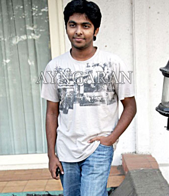 GV Prakash on a roll