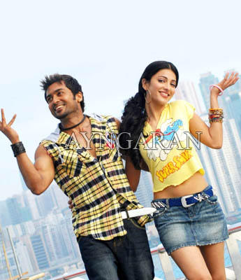 7 Aam Arivu stills create a stir