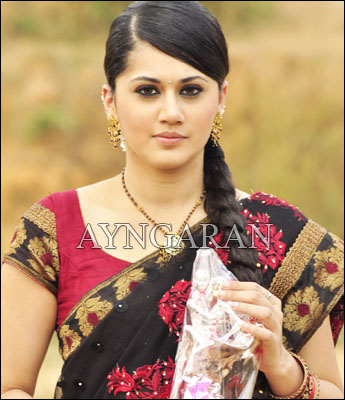 Taapsee awaiting the release of Vandhan Vendraan