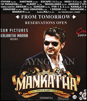 Get set for Ajith's racy flick Mankatha