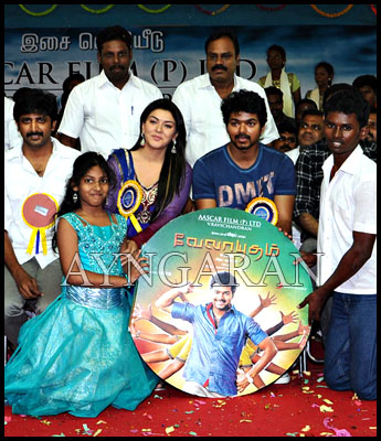 Velayudham audio launched-stills