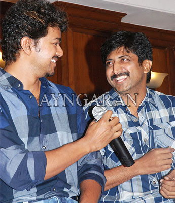 Velayudham success meet held