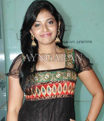Anjali in murugadoss production?