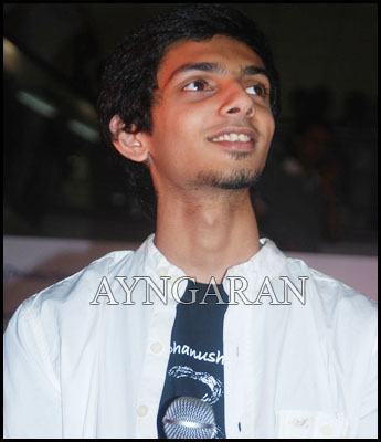 Composer Anirudh gets candid