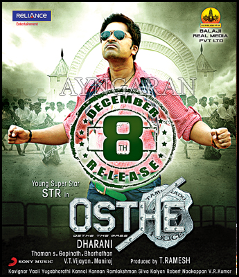 Simbu's Osthi is set for release