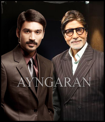 Dhanush meets Big B