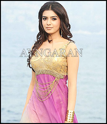 Actress Samantha is a busy bee
