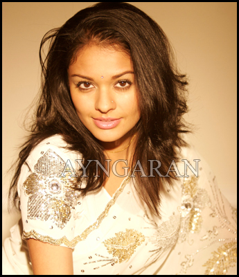 Actress Pooja Kumar on a high