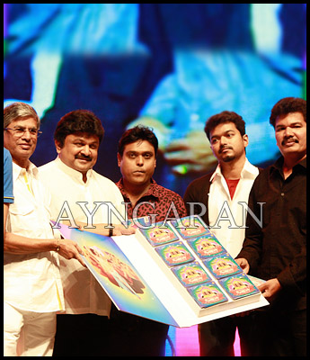 Nanban audio launched